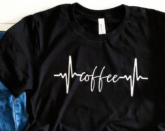 But First Coffee Shirt Original Coffee Lovers Cocoa Bean Addict Caffeine Fiend Tee Short-Sleeve Unisex T-Shirt