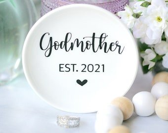 Godmother Proposal Ring Holder IN STOCK Gift Ring Dish Flower