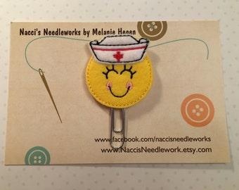 Happy Nurse Paper Clip/Bookmark- Decorative Paper Clips