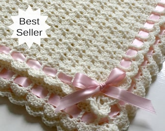 Baby Blanket Crochet Etsy