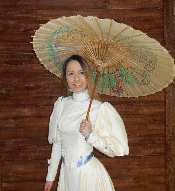 Antique 1800s 1890s Victorian era gigot sleeve cr… - image 1