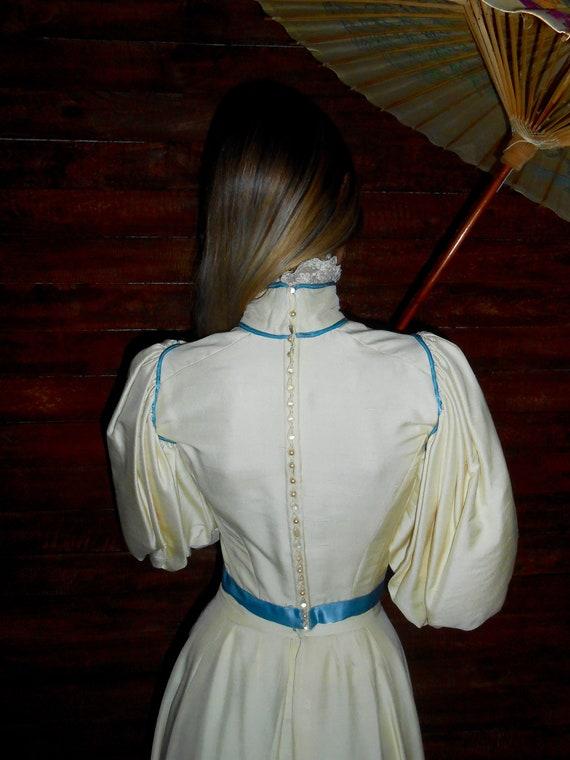 Antique 1800s 1890s Victorian era gigot sleeve cr… - image 7