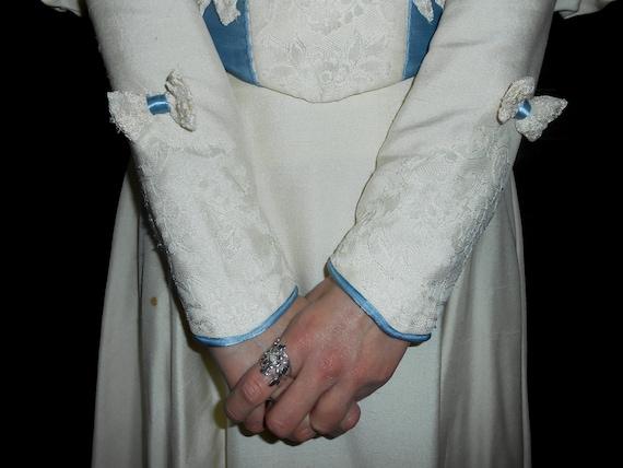 Antique 1800s 1890s Victorian era gigot sleeve cr… - image 8