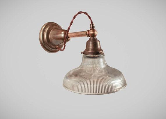 Antike viktorianische wandleuchte art deco lampe w glas etsy