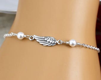 Angel Wing Bracelet Sterling Silver 33f1f93d1