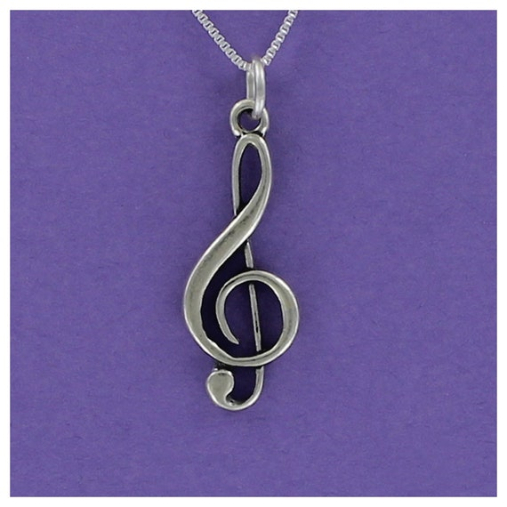 I Love Music Heart Charm Sterling Silver 925 for Bracelet Band Orchestra Choir