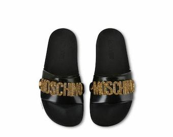 8ef2dcd6396 Custom Moschino Sandals