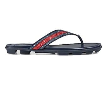 3017c279516d7 Gucci Web strap thong sandal