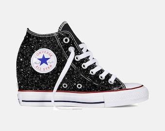 e2cde69468e Custom Chuck Taylor Converse Wedge Shoes