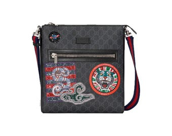 2a705352a481 Custom Gucci Supreme messenger