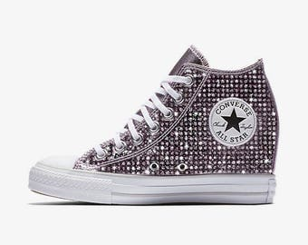 cee6f7781fb Custom Wedge Converse Chuck Taylor All Star Selene