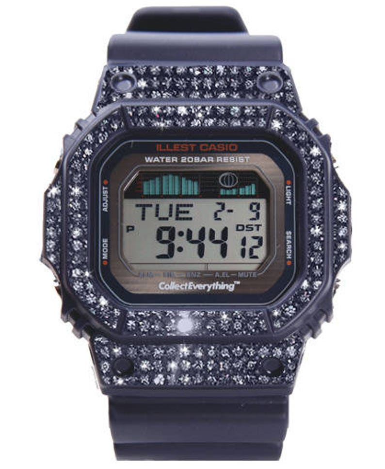 f305ef39ee8f5 G Shock Watch Customized with Swarovksi Elements