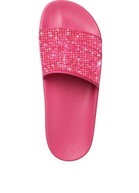 Pink GG Gucci sandals Gucci women s slide sandals  a9ceb4abbc7c