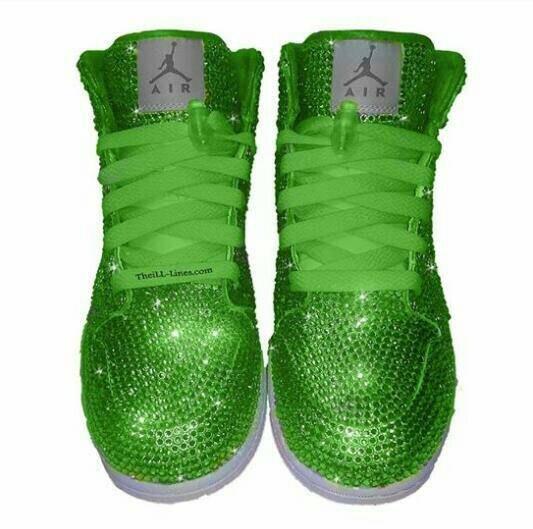 100% authentic 69da8 71540 custom chaussures nike strass swarovski, nike, chaussures, chaussures,  chaussures, citron vert. Pour répondre à cette pEnregistrer Remise nike air  max ...