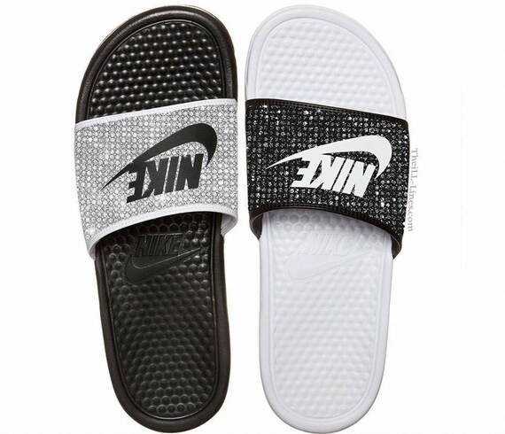 1563f496a5e9 Nike Benassi JDI women s slide sandals