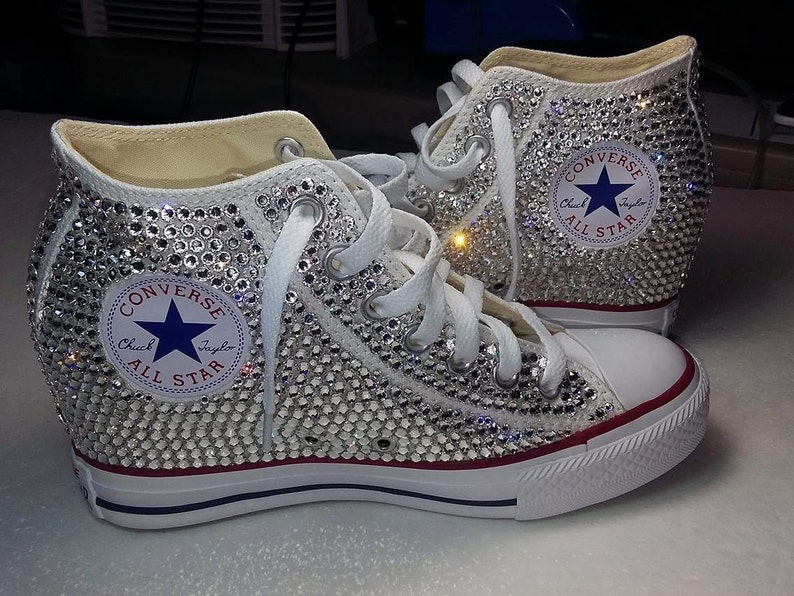 0e5bfb12726b Custom Chuck Taylor Converse Wedge Shoes