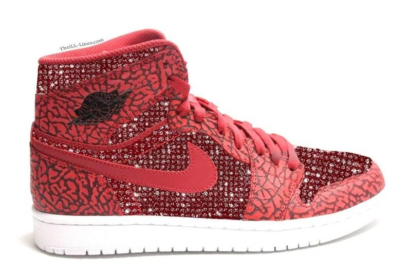 5bfd23b5f48 Air Jordans Nike Air Shoes Custom Shoes with Swarovski