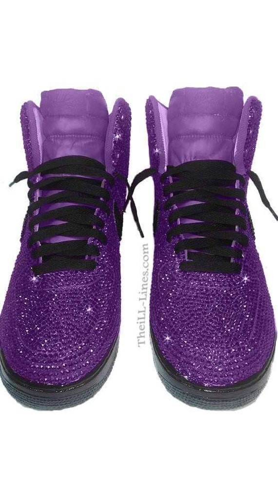 Zapatos Diamantes Swarovski Nike Custom Imitación Etsy De aqFSAqW4T