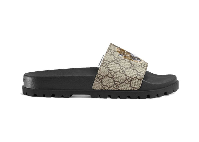b0938730d4a3e8 GG Floral brocade slide sandal Fashionable Glam Slides Gucci