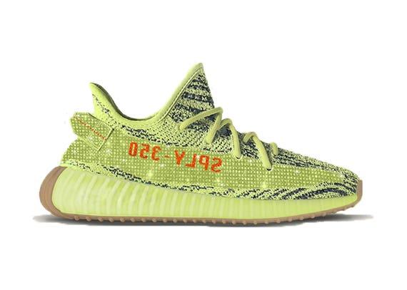 1c9f9397eff7 ... clearance adidas yeezy eingefroren gelb swarovski yeezy zu etsy b6ca4  4d45a