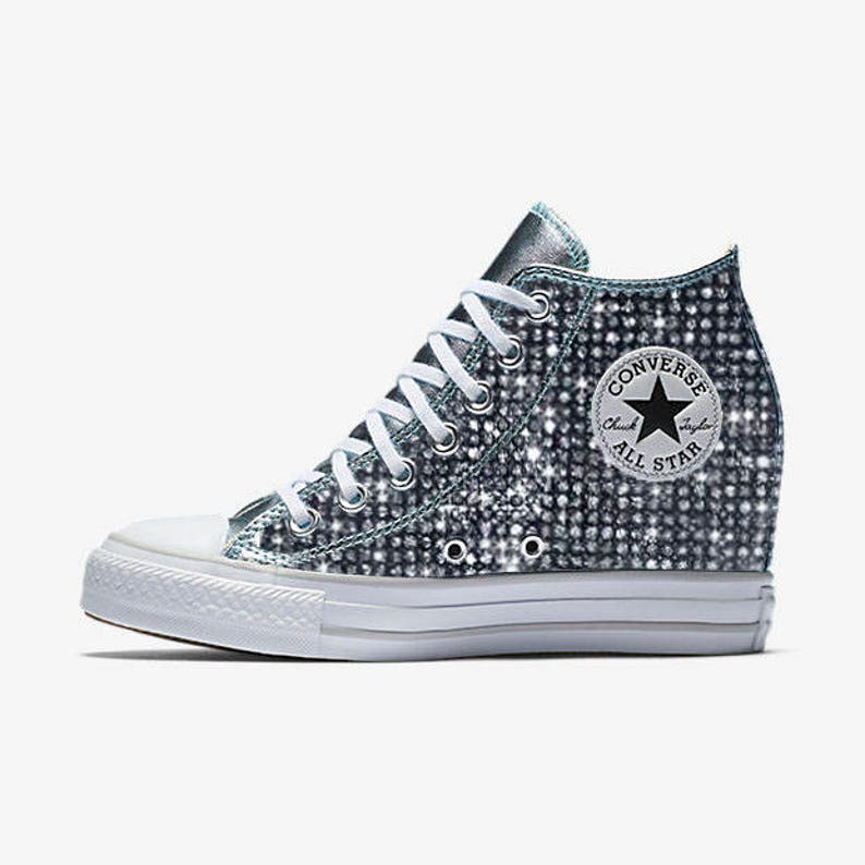 54c0dcfc07a8 Custom Wedge Converse Chuck Taylor All Star Selene Converse