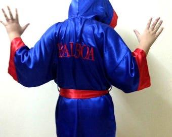 Boxer Fighter Robe Kids boxing robes | Et...