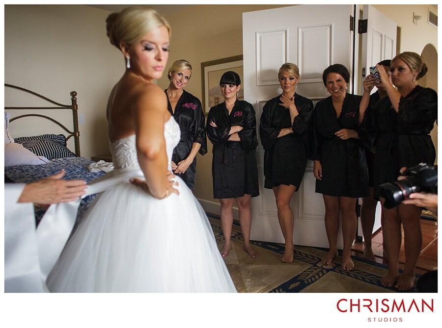 Satin bridesmaid robe black bridesmaid dressing gown white | Etsy