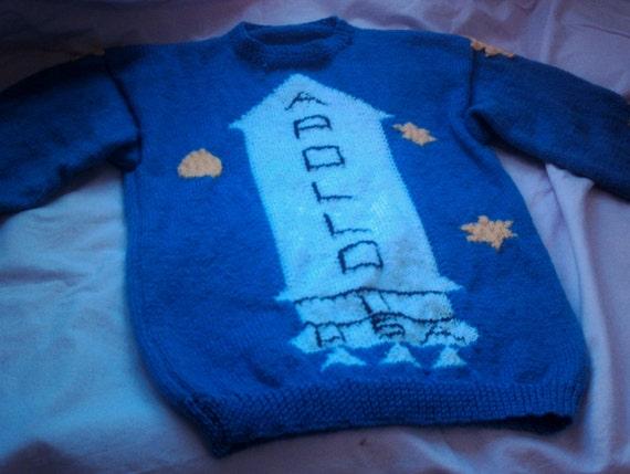 Knitting Pattern Kubrick Apollo Sweater From The Shiningadult Etsy