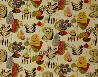 Covington Doo-Wop Home Decorator Fabric in Mardi Gras Colorway--up to 4 yards available