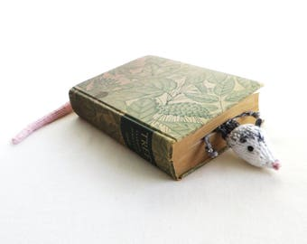 Roadkill Possum Bookmark - Vegan Roadkill - Flat Possum