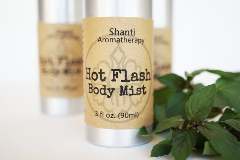 Hot Flash Cool and Refreshing Body Mist  3oz Hormonal Support image 0