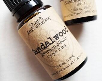 Pure Sandalwood Essential Oil - Sandalwood India - Mysore Sandalwood - Ayurveda - meditation oil