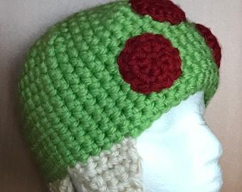 Crochet Metroid Hat