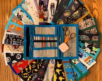 Crochet supplies Carrying Case