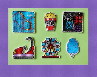 Carnival Minis - Cross Stitch Pattern