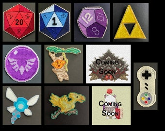 Cross Stitch Kit - Gaming