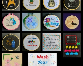 Beginner Cross Stitch Kit