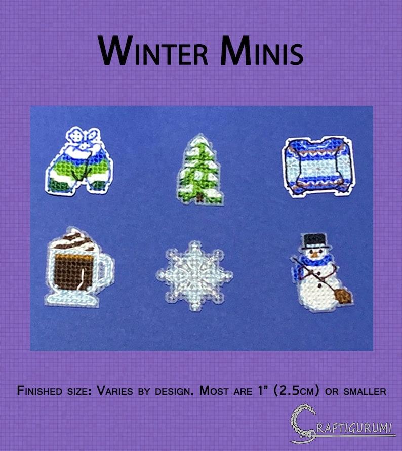Winter Minis Cross Stitch Pattern