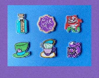 Wonderland Minis - Cross Stitch Pattern