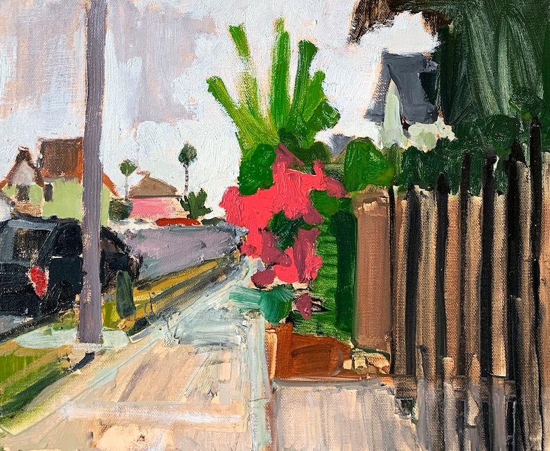 Bougainvillea in Sherman Heights San Diego Painting image 0