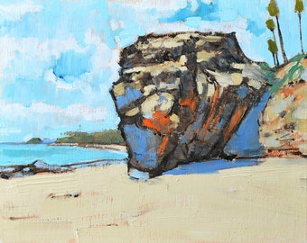 Sunny Day- Laguna Beach Painting