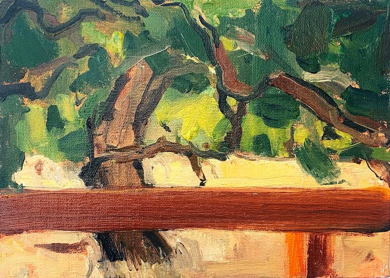 Oaks Paso Robles California landscape painting image 0