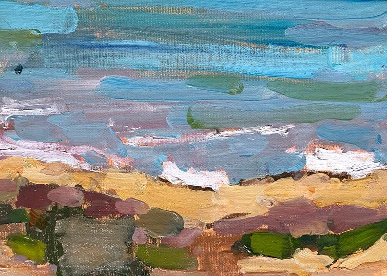 Cabrillo San Diego Plein Air Landscape Painting image 0