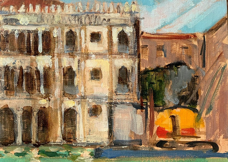 Ca d' Oro Venice Italy Painting Landscape image 0