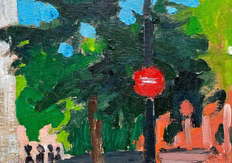 Milan Italy Painting Original Landscape image 0