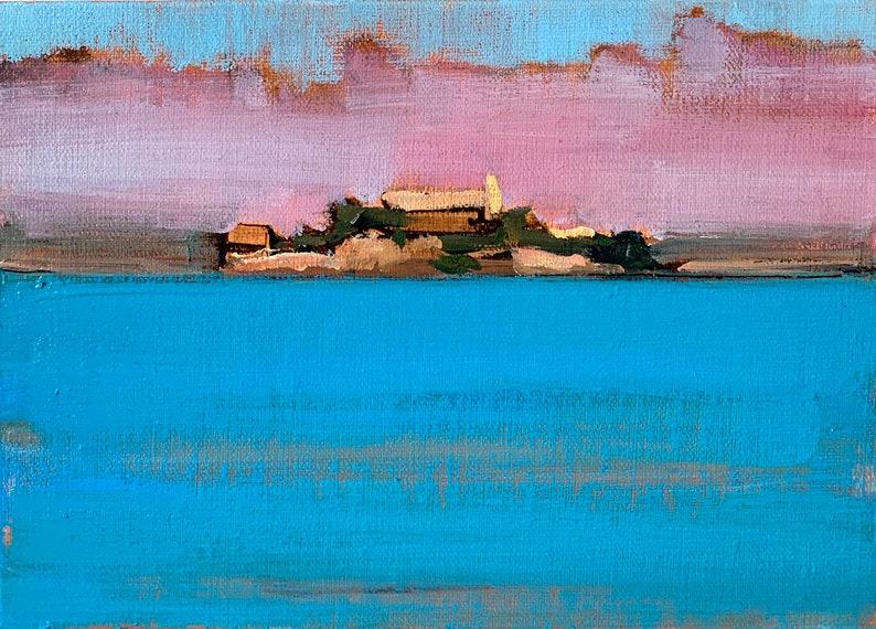 San Francisco Painting  Alcatraz image 0