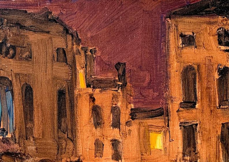 Campo dei Frari Venice Italy Painting image 0