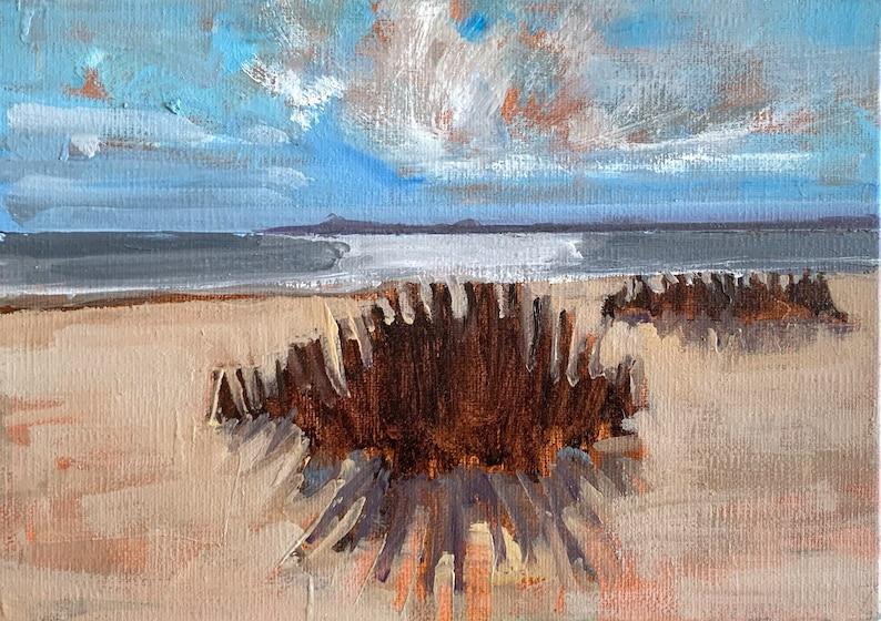 Sullivan's Island Beach Landscape Painting South Carolina image 0