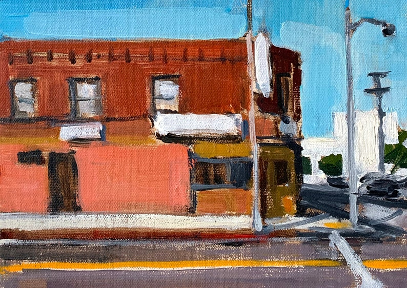 Chinatown Los Angeles Painting image 0