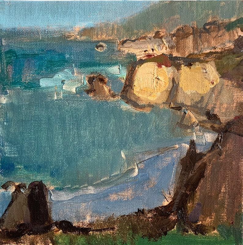 Big Sur California Landscape Painting image 0
